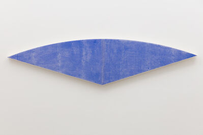 Tammi Campbell, 'Blue Curve, wrapped', 2019