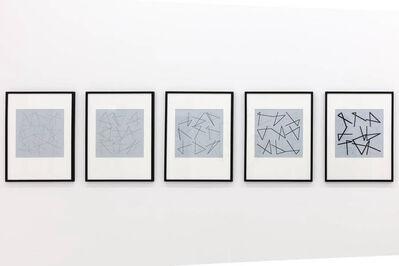 Vera Molnar, '100 Carrés', 2014