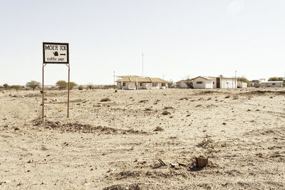 "Margaret Courtney-Clarke, '""Moer toe coffee shop"" Aroab, D614 Kalahari, Namibia', 2019"