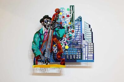 David Gerstein, 'Jazz and the city - Contrabass', 2004