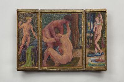 Jess, 'Lovers III: Erotic Triptych', 1969