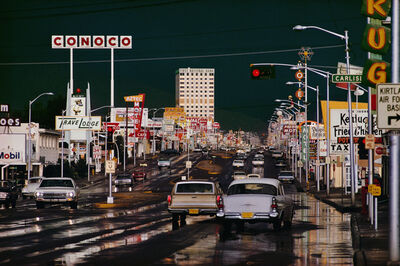 Ernst Haas, 'Route 66. Albuquerque, New Mexico. ', 1978