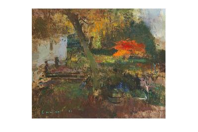 Fred Cuming, R.A., 'Autumn garden'