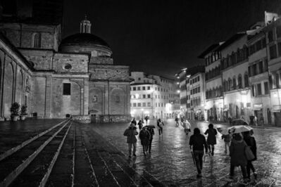 Anne Schlueter, 'Rainy Night In Florence', 2015