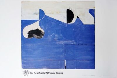 Richard Diebenkorn, 'Los Angeles 1984 Olympic Games (Pencil Signed with Signed, Embossed, Olympic Committee COA) ', 1982
