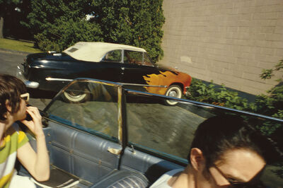 Nan Goldin, 'Flaming car, Salisbury Beach, NH', 1979
