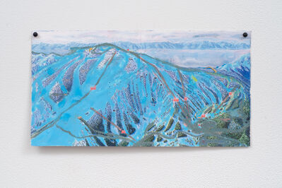 Jocko Weyland, 'Mt. Rose (White Sky)', 2013