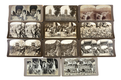 Herbert George Ponting, 'A Selection Of Rare Chinese Stereo Cards', c.1902-1907