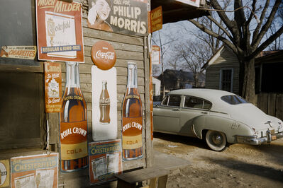 Werner Bischof, 'Advertising signage, southern states, USA', 1954