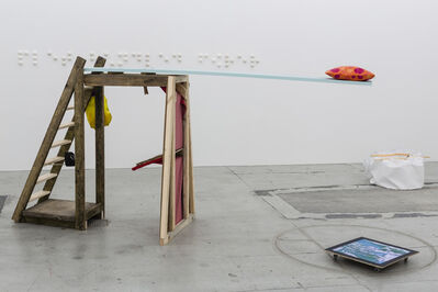 Ihra Lill Scharning, 'Lill Apocalypse's Boat Cabin Sleeping Arrangement / The Guru's Bible Shrine', 2014
