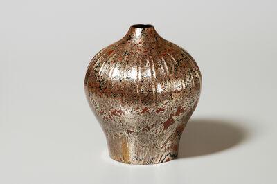 Tamagawa Norio, 'Mokume-gane Vase 050', 1996
