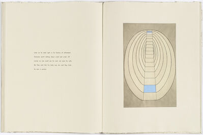 Louise Bourgeois, 'Untitled, plate 8 of 8, from the illustrated book, the puritan', 1990