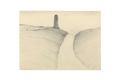 Laurence Stephen Lowry, 'The monument'