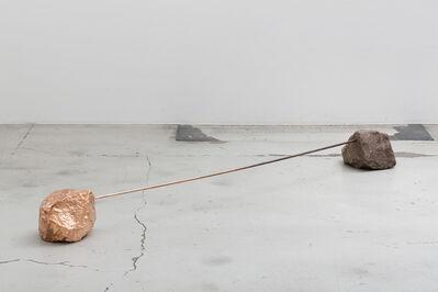 Alicja Kwade, 'Übergabe von Eigenschaften (Transfer of properties)', 2014