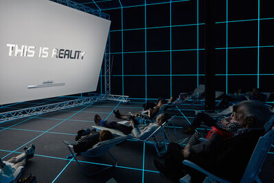 Hito Steyerl, 'Factory of the Sun (Installation View)', 2015