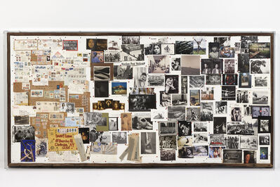 Danny Lyon, 'Darkroom Wall from Danny Lyon's Studio, Ulster County, New York', 1985-2005