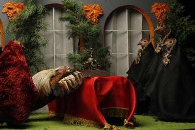 Binelde Hyrcan, 'The King is dead! vive le roi  (1)', 2017