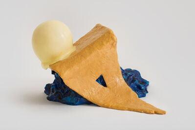 Claes Oldenburg & Coosje van Bruggen, 'Paradise Pies VI, Blue', 2009