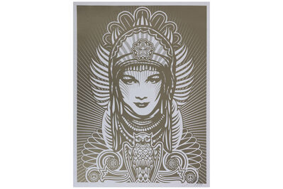 Shepard Fairey, 'Peace Goddess (Gold)', 2007