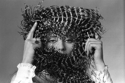 Baron Wolman, 'Lacy with feather crown', 1968