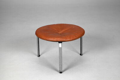 Poul Kjærholm, 'Rare Extra Large Stool, Model No. PK-33', ca. 1960