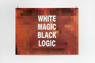 Emo de Medeiros, 'White Magic Black Logic (Steve Reich)', 2018
