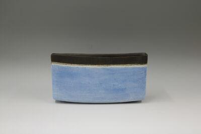 Mitsukuni Misaki, 'Saiyuudeiki (Colored stoneware vessel)', 2016