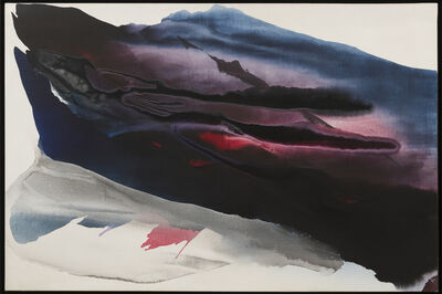 Paul Jenkins, 'Phenomena Nearing Tundra', 1961