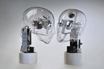 Guzzetti Ale, 'Affective Robots - Impossible Kiss', 2012