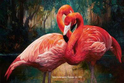 Julie Bell, 'Flamingos', 2015