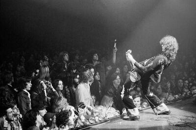 Michael Brennan, 'Led Zeppelin- Olympia stadium in Detroit', 1975