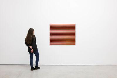 "Jan Dibbets, 'Venetian Blinds ""Red""', 1971-2013"