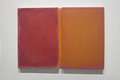 Sérgio Sister, 'Just Together Red and Orange  ', 2019