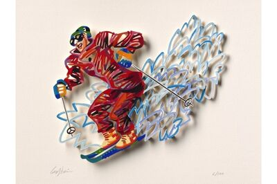 David Gerstein, 'Slalom - Paper Cut', 2007