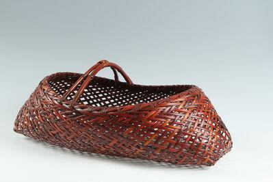 Kawano Shoko, 'Bamboo Basket (T-3724)', Heisei era (1989-present) ca. 2005