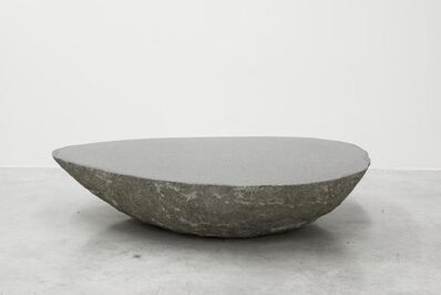 Max Lamb, 'Big low round boulder table', 2010
