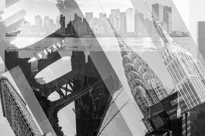 Frederick Hodder, 'Manhattan Collage', 2013