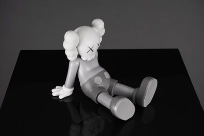 KAWS, ''Holiday Limited' Vinyl Art Toy, Grey ', 2019