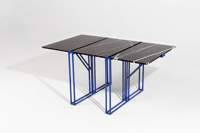Ángel Mombiedro, 'Architect's Marble Table', 2019