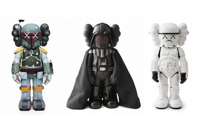 KAWS, 'Star wars set', 2008