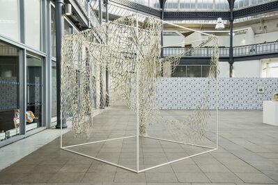 Nadia Myre, 'Beaded Net (After Goree Island)', 2018