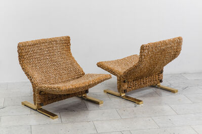 Marzio Cecchi, 'Pair of Lounge Chairs'