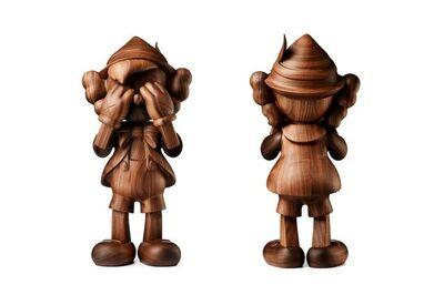 KAWS, 'Pinocchio by Kaws in Wood (by Karimoku)', 2018