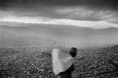 Chris Steele Perkins, 'A view of the capital, La Paz, Bolivia', 1984