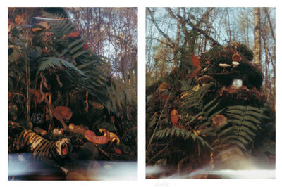 Kim Soun-Gui, 'Foret 1(Forest 1), Foret 2 (Forest 2)', 1998-1999