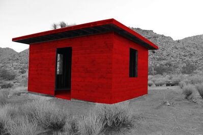 Frederick Fulmer, 'Kent Ghost Cabin Red', 2018