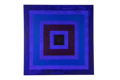 Michael Daniels, 'Geometric Op-Art Style Acrylic Painting by Michael Daniels', ca. 2000