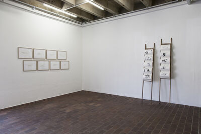 Falke Pisano, 'Repetition and dispersion / 4 jokes become 5 jokes (Work) and Repetition and dispersion / 4 jokes become 5 jokes (Crime)', 2013
