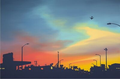 Lindsey Warren, 'Inglewood Sunset', 2019