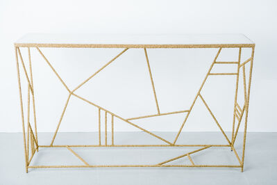 AMOIA Studio, 'Brass and Onyx Console', 2016